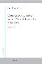 Correspondance avec Robert Campbell et les siens 1946-1977 Couverture du livre